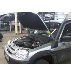 Амортизатор (упор) капота на Chevrolet Niva UP 2706