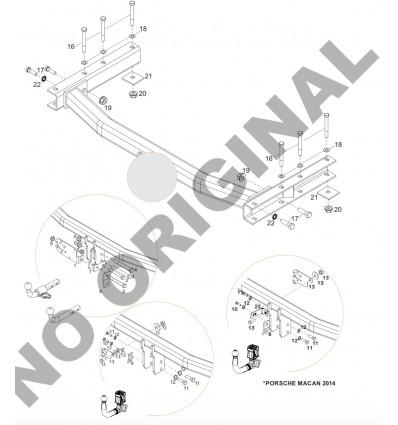 Фаркоп на Audi Q5 E0409AA