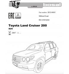 Фаркоп на Toyota Land Cruiser 200 3012-AK41