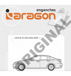 Фаркоп на Lexus IS E3400AV