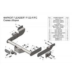 Фаркоп на Ford Transit F122-FC