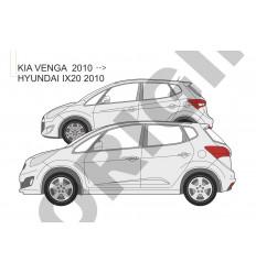 Фаркоп на Kia Venga E3012AA