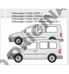 Фаркоп на Volkswagen Caddy E6708AA