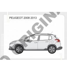 Фаркоп на Peugeot 2008 E4728AS