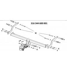 Фаркоп на Renault Sandero 316344600001