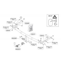 Фаркоп на Mazda 6 535400