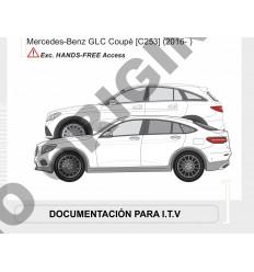 Фаркоп на Mercedes GLC Coupe E4130AA