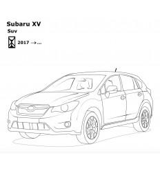 Фаркоп на Subaru XV 6313-A