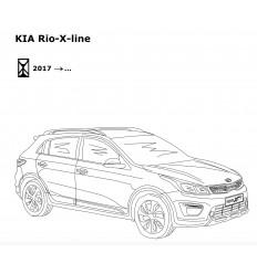 Фаркоп на Kia Rio X-Line 6760-A