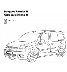 Фаркоп на Peugeot Partner 2 2556-A