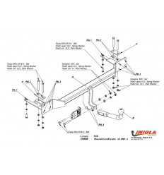 Фаркоп на Chevrolet Lacetti CH/008