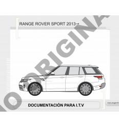Фаркоп на Land Rover Range Rover Sport E3504EA