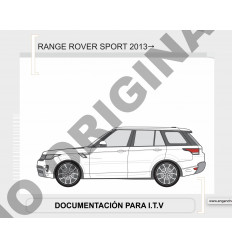 Фаркоп на Land Rover Range Rover Sport E3504EV