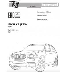 Фаркоп на BMW X4 4754-A