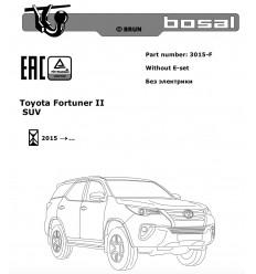 Фаркоп на Toyota Fortuner 3015-F