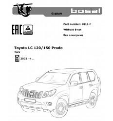 Фаркоп на Toyota Land Cruiser Prado 120,150 3016-F