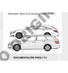 Фаркоп на Mercedes CLS E4127AA
