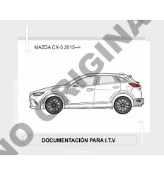 Фаркоп на Mazda CX-3 E4010AV