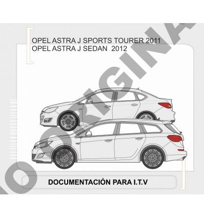 Фаркоп на Opel Astra J E4510DA