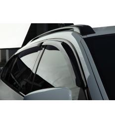 Дефлекторы боковых окон на BMW X6 SBMWX60832