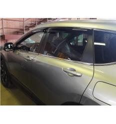 Дефлекторы боковых окон на Honda CR-V SHOCRV1632
