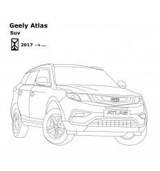 Фаркоп на Geely Atlas 9014-A