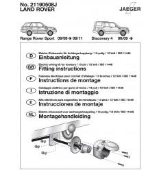 Электрика оригинальная на Land Rover Discovery 4 / Range Rover Sport  21190508