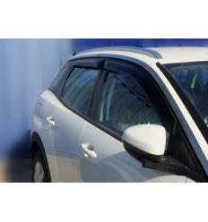 Дефлекторы боковых окон на Peugeot 3008 SPE30081632