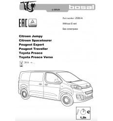 Фаркоп на Peugeot Expert 2558-A