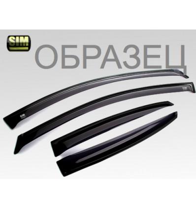Дефлекторы боковых окон на Volkswagen Teramont SVOTER1732