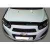Дефлектор капота (отбойник) на Chevrolet Aveo SCHAVE1212