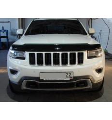 Дефлектор капота (отбойник) на Jeep Grand Cherokee