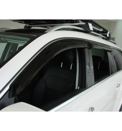 Дефлекторы боковых окон на Mercedes GLS SMERGLS1632