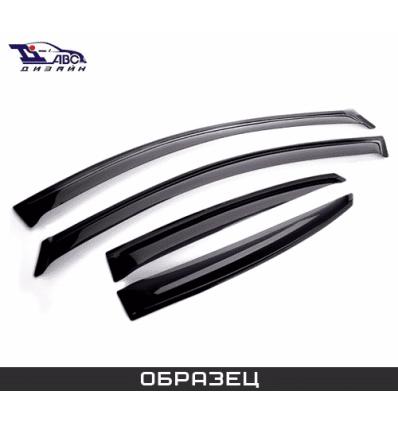 Дефлекторы боковых окон на Opel Zafira B DPL110