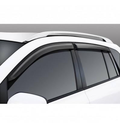 Дефлекторы боковых окон на Renault Koleos 34706001