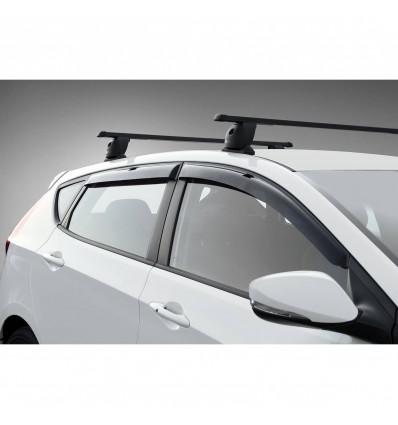 Дефлекторы боковых окон на Hyundai Solaris 32305004