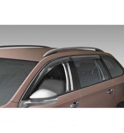 Дефлекторы боковых окон на Skoda Octavia A7 35101006