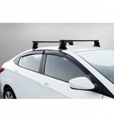 Дефлекторы боковых окон на Hyundai Solaris 32305001