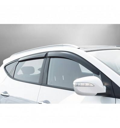 Дефлекторы боковых окон на Hyundai ix35 32304001