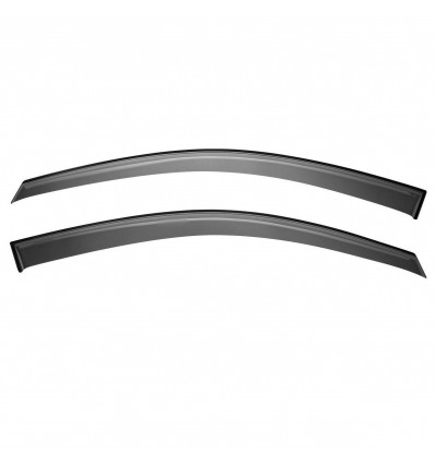 Дефлекторы боковых окон на Nissan Navara SNINAV0532/2