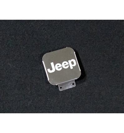 Заглушка на фаркоп с логотипом Jeep TCUZJEEP1