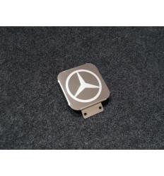 Заглушка на фаркоп с логотипом Mercedes-Benz TCUMERC1