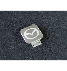 Заглушка на фаркоп с логотипом Mazda TCUMAZ1