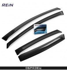 Дефлекторы боковых окон на Kia Rio REINWV380