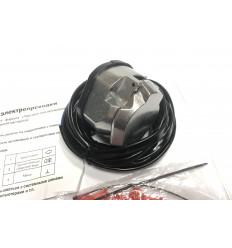 Универсальная электрика для фаркопа с алюминиевой розеткой 067B-AL