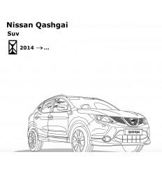 Фаркоп на Nissan Qashqai 4382-A