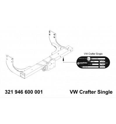 Фаркоп на Volkswagen Crafter 321946600001