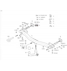 Фаркоп на Fiat 500X 342197600001