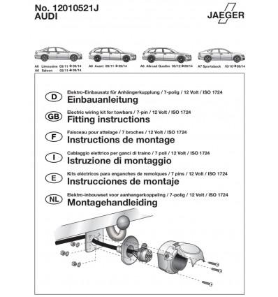 Электрика оригинальная на Audi A6/A7 12010521