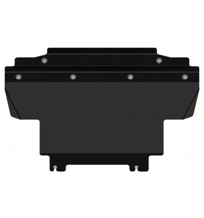 Защита радиатора Nissan Navara 15.3161